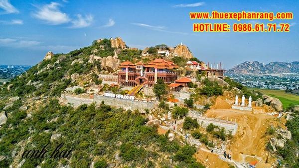Toàn cảnh chùa Trùng Sơn Cổ Tự, huyện Ninh Hải, tỉnh Ninh Thuận